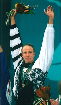 Danyon Loader double gold medalist Swimming Atlanta 1996
