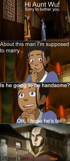 The Legend of Korra/ Avatar the Last Airbender: I love this so much lol