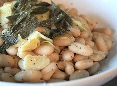 Tuscan White Beans | a.k.a. Alex's beans | We Like to Cook!