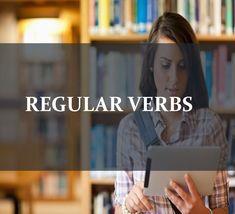 Lista de verbos regulares en pasado simple.