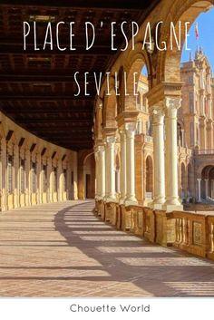 La Place d'Espagne - Séville #séville #andalousie #espagne #weekend #citytrip