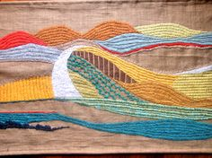 #tapestry https://www.etsy.com/listing/51453754/ooak-wall-hangings-decorative-arts?ref=shop_home_feat_4