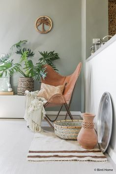 How to create ethnic bohemian interior style at home ©️️BintiHome