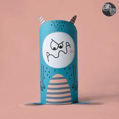 GLÒRIA FORT nos propone una manualidad original y creativa para hacer con los niños, ¡y reciclando!