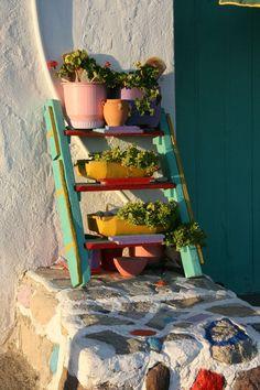 #Grecia - Colori in scala - una pic dalle Cicladi di kiruna