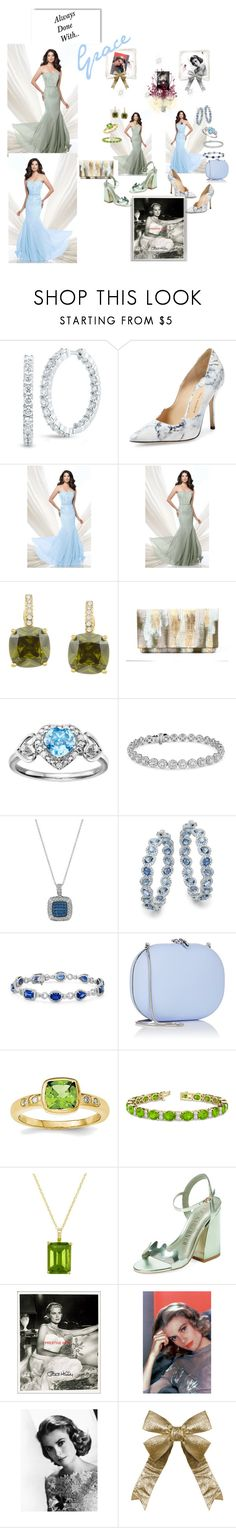 """""""Graceful!"""" by sinmrn ❤ liked on Polyvore featuring Roberto Coin, Paul Andrew, Mon Cheri, City Style, Love Is Forever, Blue Nile, LE VIAN, Jeffrey Levinson, Allurez and EWA"""