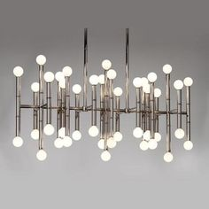 Jonathan Adler - meurice rectangle chandelier - even better because non-brass