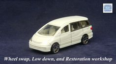 TOMICA 099E TOYOTA ESTIMA PREVIA MK2 #WHEELSWAP #LOWDOWN | v.72 | FIN SILVER Toyota, Old Models, Diecast, Nissan, Auction, Van, Vehicles, Silver, Rolling Stock