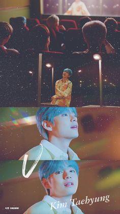 Wallpaper * Kim Taehyung V Lights Bts Taehyung, Bts Bangtan Boy, Bts Jimin, Namjoon, Taehyung Photoshoot, Foto Bts, Vmin, Tomoyo Sakura, Bts Love