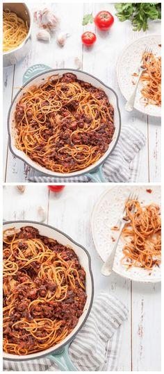 Mushroom Bolognese Recipe