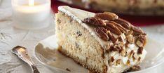 Pekaanipähkinä-kookoskakku Vanilla Cake, Tiramisu, Banana Bread, Pie, Cupcakes, Baking, Ethnic Recipes, Desserts, Food