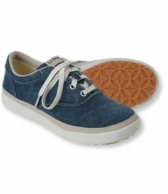 Women's Bean's Canvas Deck Shoes, Lace-Up: Casual | Free Shipping at L.L.Bean
