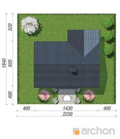 Projekt domu Dom w kostrzewach 4 (A) - ARCHON+ Picnic Blanket, Outdoor Blanket, Picnic Quilt