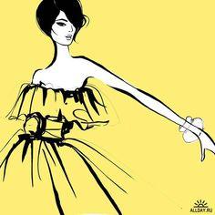 Fashion Design Sketches Dresses Megan Hess Ideas For 2019 Fashion Painting, Fashion Art, Ballet Fashion, Fashion Quotes, Trendy Fashion, Style Fashion, Megan Hess Illustration, Illustration Sketches, Kerrie Hess