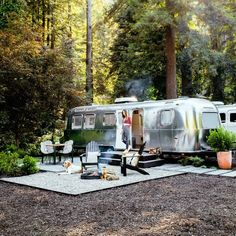 Russian Rivera Airstream Glamping in Guerneville , California