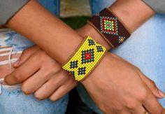 A personal favorite from my Etsy shop https://www.etsy.com/il-en/listing/561568125/boho-accessories-boho-beaded-bracelets