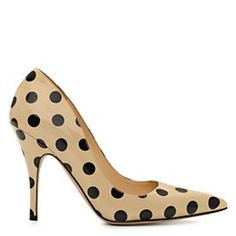 Love these Kate Spade polka dot shoes! Licorice