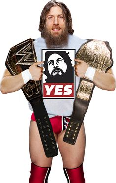 Dress up as WWE Superstar Daniel Bryan for Halloween with these t-shirts, shorts and tights, beards and boots. Cool Costumes, Halloween Costumes For Kids, Halloween Make Up, Adult Costumes, Costume Ideas, Daniel Bryan Brie Bella, Daniel Bryan Wwe, Wrestling Costumes, Wrestling Wwe