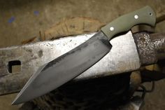 Show me your custom camp knife/chopper. - Page 52