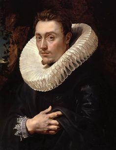 Peter Paul Rubens - RETRATO DE JOVEM - 1610