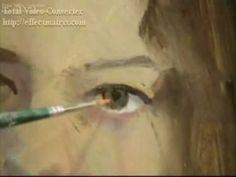 Retrato al óleo - Capel, Oil Portrait Painting Demo , Capel part 1