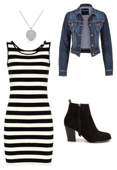 """Bez naslova #3"" by atuholjakovic ❤ liked on Polyvore featuring maurices, Nly Shoes, blackandwhite and women"