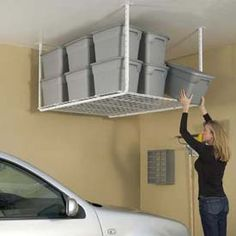 Hyloft Ceiling & Wall Mounted Garage Storage Units