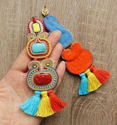 Etnic Qmaraq boucles doreilles grandes et spectaculaires