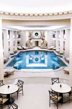 This is what the inside of a Chanel spa in Paris looks like — Vogue Living