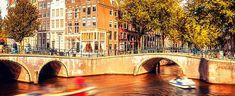 Paseo en barco por los canales Amsterdam, Boating, New York City, Walks
