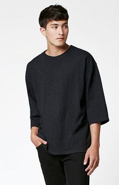 Pei 3/4 Sleeve Relaxed T-Shirt