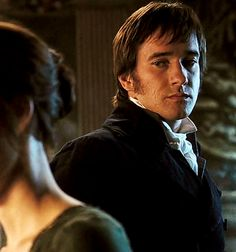 Fitzwilliam Darcy (Matthew MacFadyen) of Pride and Prejudice - What a soulful look