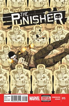All New Punisher 15. Cover by Mitch Gerads
