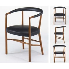 """This is one of the most famous works of Jacob Kjær called """"FN Chair"""", which was designed for use at the UN Building in New York."""