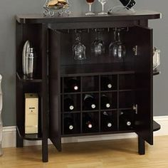 "Bar Cabinets A gesture of sophisticated style, tasteful Bar Furniture helps accent your dining space while keeping all that is important, together. Please enjoy responsibly. ""."