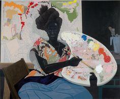 Kerry James Marshall é o pintor que traduz a força da cultura negra em telas