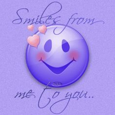 Discover & share this Smile GIF with everyone you know. GIPHY is how you search, share, discover, and create GIFs. Smileys, Purple Love, All Things Purple, Purple Colors, Morning Greetings Quotes, Good Morning Quotes, Morning Gif, Smile Face, Make You Smile