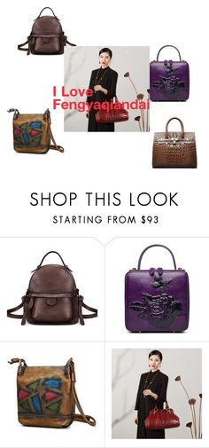 """I Love Fengyaqiandai"" by houseofhello on Polyvore featuring Handle"