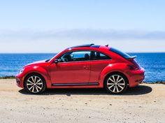 A 2-liter turbocharged engine gives the 2014 Volkswagen Beetle R-Line a nice combination of power and efficiency, while its unique body style evokes a cultural icon. The Fender audio system delivers excellent sound quality.
