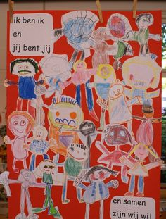 * eerste schoolweek: ik ben ik, en jij bent jij, en samen zijn wij wij! Back 2 School, First Day Of School, Leader In Me, Kindergarten Lesson Plans, History Projects, My Themes, School Hacks, Classroom Themes, Coloring For Kids