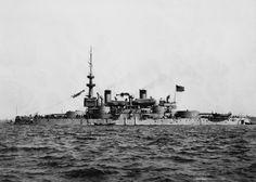 USS Massachusetts seen in 1898.