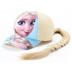 Disney Toddler Girl's Frozen Elsa Braid Baseball Cap in Blue (NEW) Disney Frozen Toys, Disney Princess Toys, Elsa Fancy Dress, Princess Dress Up, Baby Girl Toys, Toys For Girls, Elsa Braid, Frozen Jewelry, Girl Baseball Cap