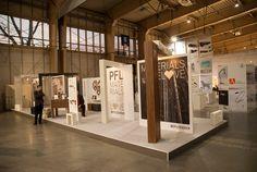 "Stoisko ekspozycyjne ""Materials we love. Concept by Zięta & Kuchciński - od idei do materiału"". Divider, Events, Room, Furniture, Design, Home Decor, Bedroom, Decoration Home, Room Decor"