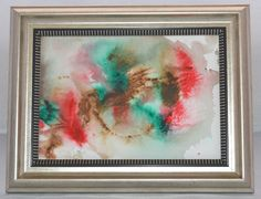 """Original Painting - 5"""" x 7"""" - Abstract - Multi-Colored Watercolor Painting - 2015-20 by AidforAbby on Etsy https://www.etsy.com/listing/222840085/original-painting-5-x-7-abstract-multi"""