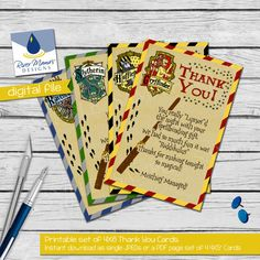 HP Thank You Cards