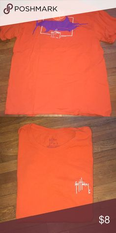 063572367 Womens Guy Harvey Clemson T-shirt Size Medium Clemson Tshirt! In great  condition with