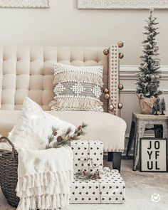 15 kitchen cleaning hacks The prettiest vignette featuring our boho fringe and embroidered snowflake pillows Huge shoutout to. The Perfect Touch, Perfect Fit, Pillow Inserts, Pillow Covers, Joann Fabrics, Color Combinations, Blanket, This Or That Questions, Pillows