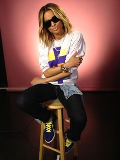 I'm in love with Ciara's style.