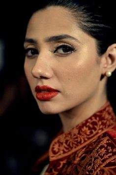 Mahira Khan. Pakistani actor/model