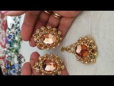 Beading Tutorials, Beading Patterns, Jewelry Sets, Jewelry Making, Bead Earrings, Bead Weaving, Beaded Jewelry, Pendants, Brooch